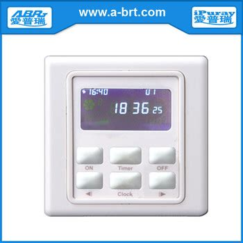 Saklar Timer 220v automatic school bell timer switch buy school bell