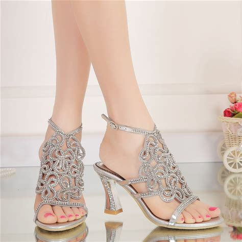 Gold Strappy Shoes Wedding by Get Cheap Gold Strappy Heels Aliexpress