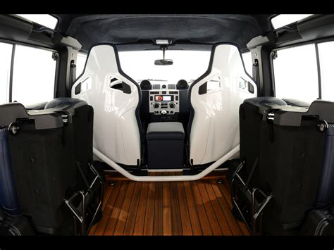 1997 land rover defender interior 2011 startech land rover defender 90 yachting edition