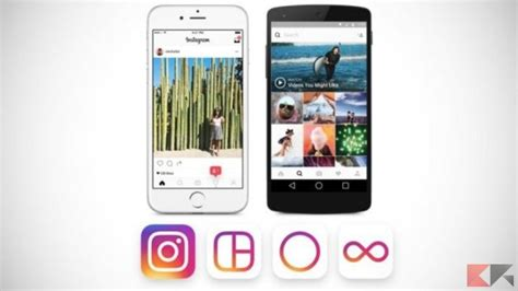 Nuovo Layout Instagram | instagram cambia icona ed interfaccia vi piace chimerarevo
