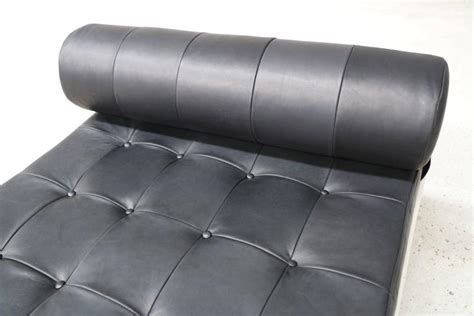 analine leather sofa ar cordemeyer vintage quot cleopatra quot daybed in black analine