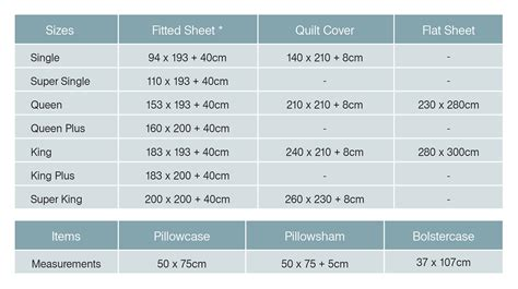 size bed measurements bed sheet bedding sizes measurements bedorigin sg