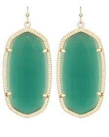 Danielle earrings in emerald cat s eye kendra scott jewelry