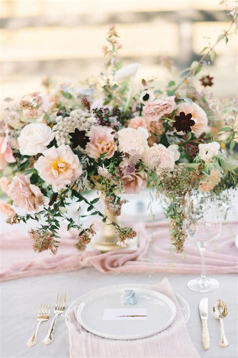 pink wedding centerpieces  love martha stewart weddings