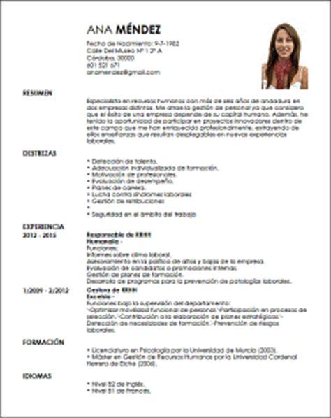 Ejemplo Curriculum Gerente De Recursos Humanos Modelo Cv Responsable De Recursos Humanos Livecareer