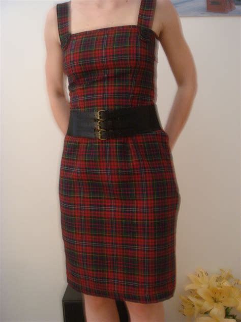 pattern pinafore dress tartan pinafore dress sewing projects burdastyle com