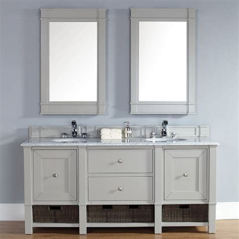 gray shaker style bathroom vanities a bathroom trend