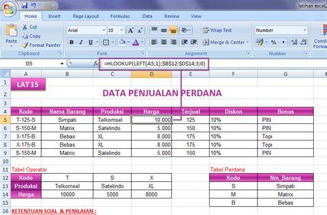 tutorial vlookup dan hlookup pdf all categories bertylsmallbusiness