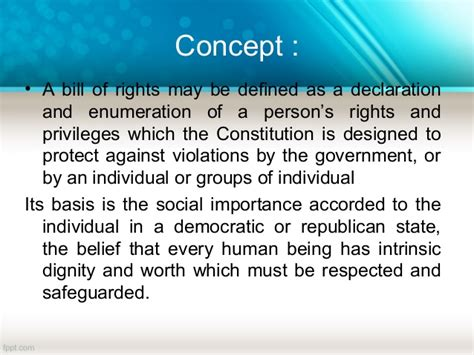 bill of rights section 1 to 22 revised bill of rights part 1