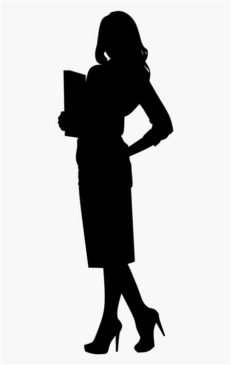 Career, Business, Woman, Silhouette, Office, Worker