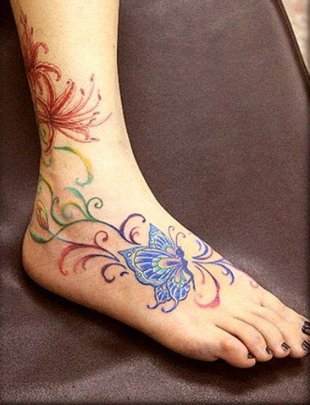 rose vine ankle tattoos designs for on foot ankle tattoos
