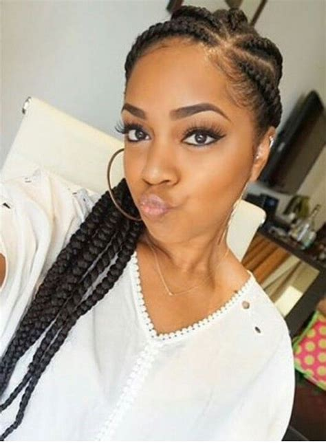 pics of chunky braided styles chunky cornrows braid it up pinterest ps and cornrows