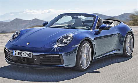 Porsche Neuheiten 2019 by Porsche 911 Cabrio 2019 Motor Ausstattung