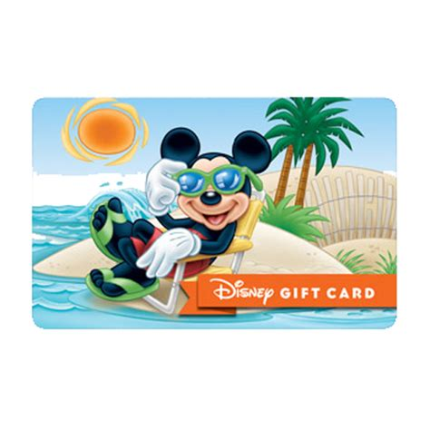 Rays Gift Card - your wdw store disney collectible gift card catching some rays beach series