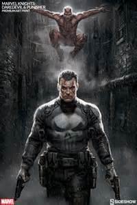 Marvel Punisher Marvel Marvel Knights Punisher Daredevil Premium Print