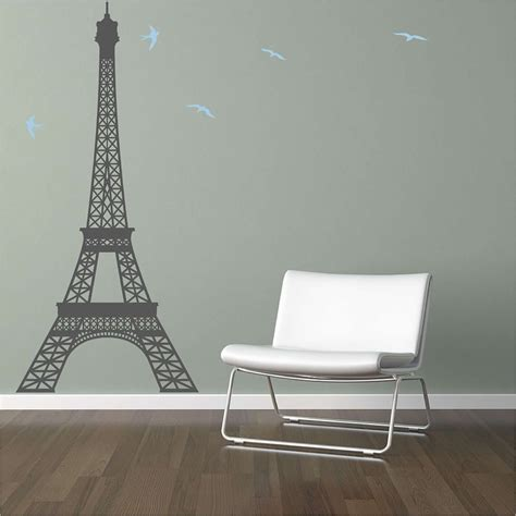wall stickers eiffel tower large eiffel tower vinyl wall decal