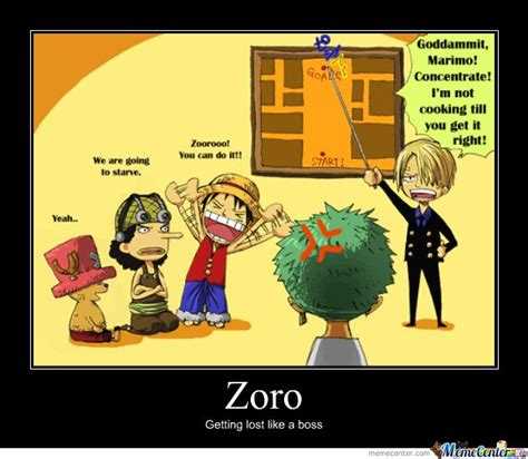 zoro logic meme google search  piece anime