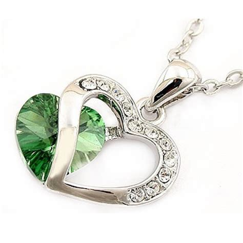 Kalung Silver 925 Liontin Chanel kalung liontin wanita necklace 925 sterling silver green jakartanotebook