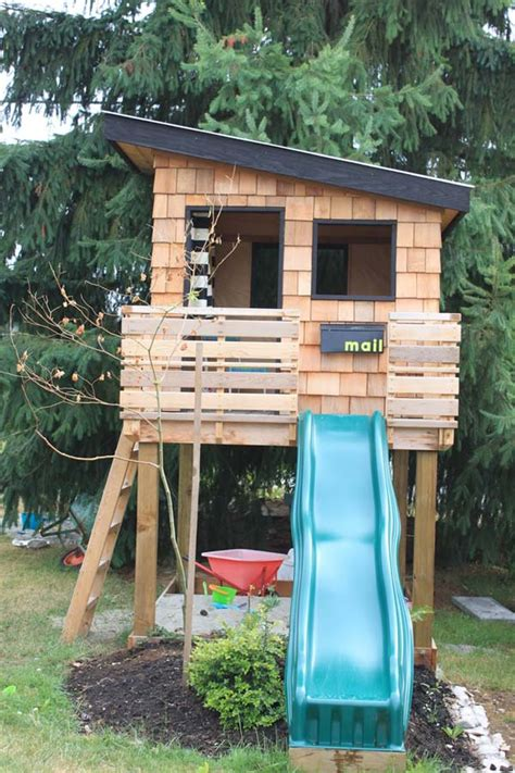 wooden backyard playhouse 16 creative kids wooden playhouses designs for your yard