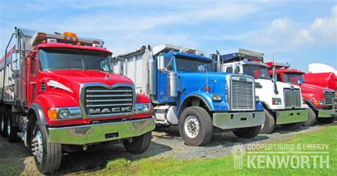 used kw trucks for sale kenworth dump trucks for sale at coopersburg liberty