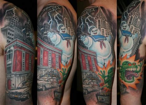 ghostbusters tattoo ghostbusters by ian flynn ghostbusters