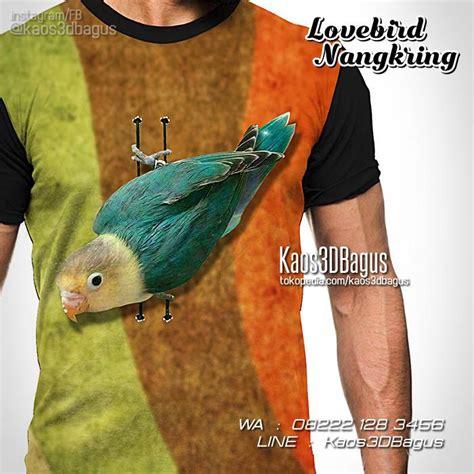 Kaos Kicau Mania Lovebird Vol 1 kaos lovebird kaos burung kicau mania kaos klub