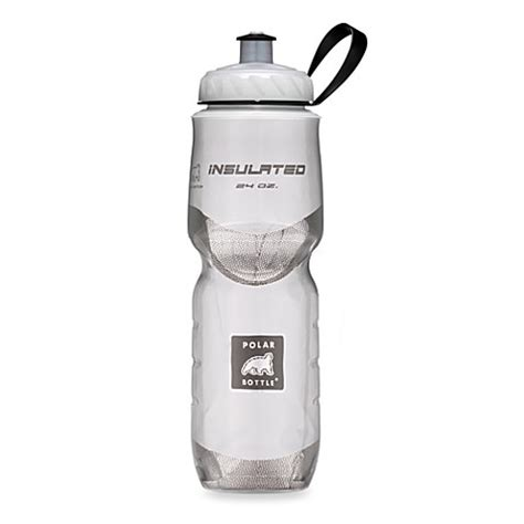 bed bath and beyond water bottle polar bottles 174 24 ounce water bottle in white bed bath