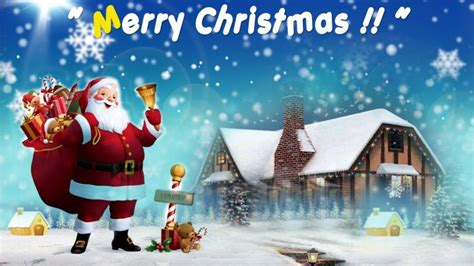 happy christmas images hd wallpaper