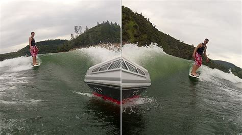 wake boat setup best wakesurf setup for z3 with surf ballast