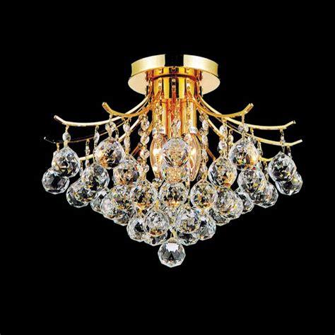 Flush Mount Chandeliers Brizzo Lighting Stores 16 Quot Monarch Flush Mount Chandelier Chrome Gold 4 Lights