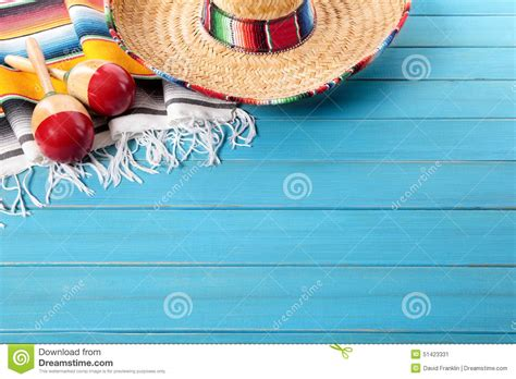 mexican themed powerpoint template mexico mexican background sombrero copy space