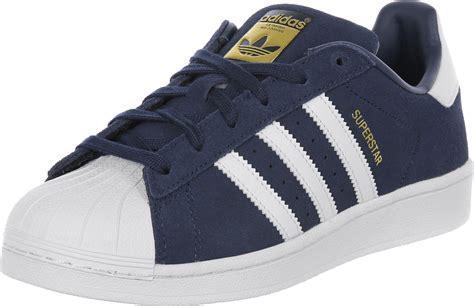 Adidas Superstars adidas superstar j w schoenen blauw