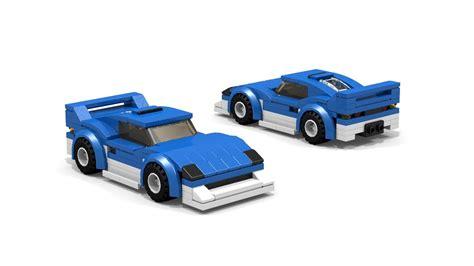 lego ferrari tutorial lego ferrari f40 brummel racing car moc tutorial youtube