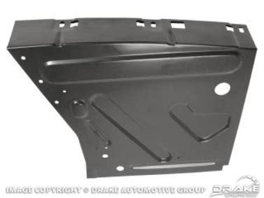 Mustang Grill Corral C7zz 8213 A Restoration Quality Mustang Parts 1967 1968 Ford Mustang Front Fender Apron Left Drivers Side The Mustang Shop