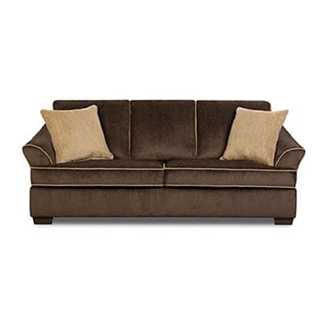 simmons sofa big lots simmons 174 sequoia brown sofa big lots