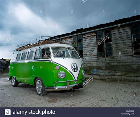 green volkswagen van green vw volkswagen screen cer van bus lowered