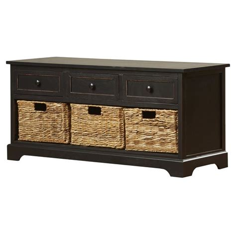 wood entryway bench with storage mckinley wood storage entryway bench by beachcrest home