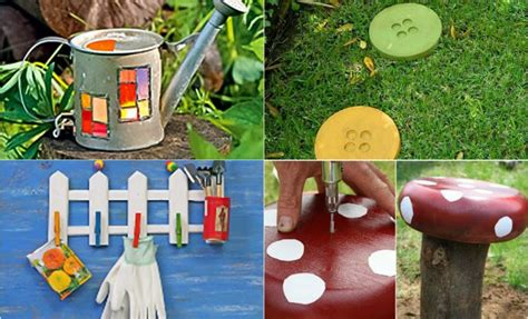 diy garden decor ideas  projects  yard  patio