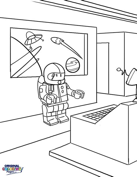 lego block coloring coloring pages