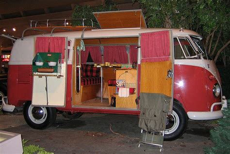 volkswagen van inside the vw bus
