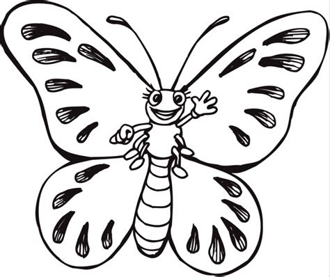 butterfly to color butterfly coloring page coloring page book