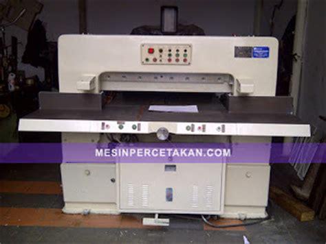 Mesin Potong Qz Mesin Potong Kertas Bekas Harga Murah Mesincetak