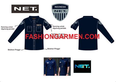 Seragam Net Tv seragam net tv pembuatan seragam mirip net tv