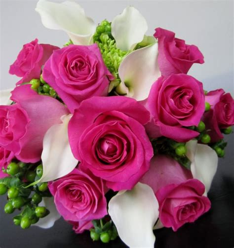 stunning pink peonies greens white roses centerpiece bedding bouquet with white roses pink cali lilies and