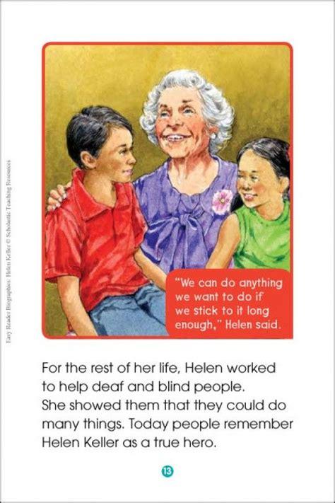 hellen keller scholastic biography questions 17 best images about helen keller on pinterest helen