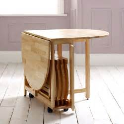 Folding Dining Table And Chairs Choose A Folding Dining Table For A Small Space Adorable Home