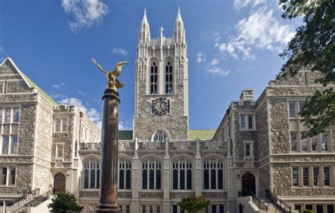 Boston College Mba Program Application Deadline by Carroll School Of Management Boston College Metromba