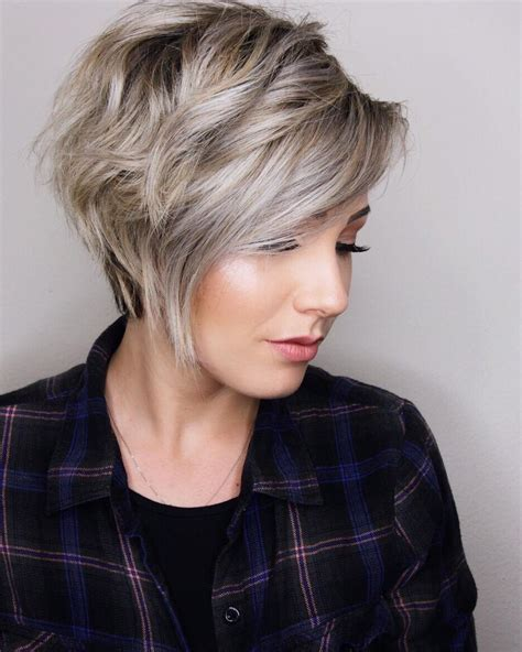 haircuts for thick hair women s 10 trendy layered short haircut ideas extra special