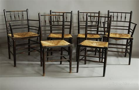 Morris Chair For Sale by Set Of Six Morris Amp Co Sussex Chairs Antiques Atlas