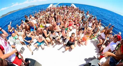 party boat ibiza party capital ibiza can t handle any more surges in